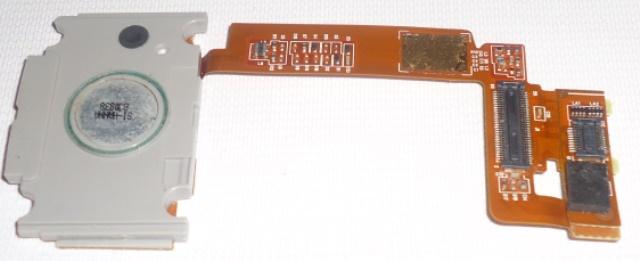 Conjunto Flex Conector Botões Sony Ericsson T303
