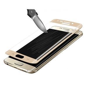 Película de Vidro Samsung Galaxy S6 Edge com curva dourada
