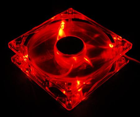 Cooler Zalman ZM - F3 LED RED 120x120