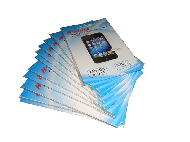 Kit 11 Películas Plástico Motorola Defy Mini XT321