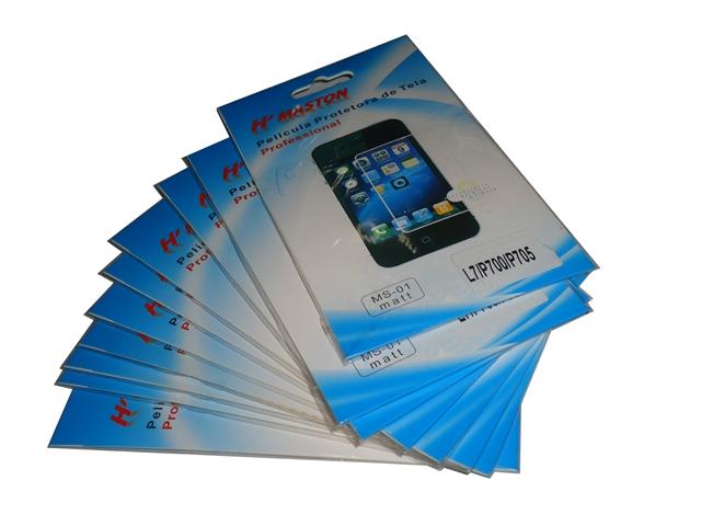 Lote 10 Películas Plástico LG Optimus L7 P700 / P705