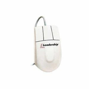 LOTE C/ 30 MOUSE LEADERSHIP PS/2 ESFERA BALL BRANCO 7300
