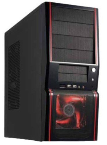 Gabinete Casemall Km-6988-red Neon Vermelho