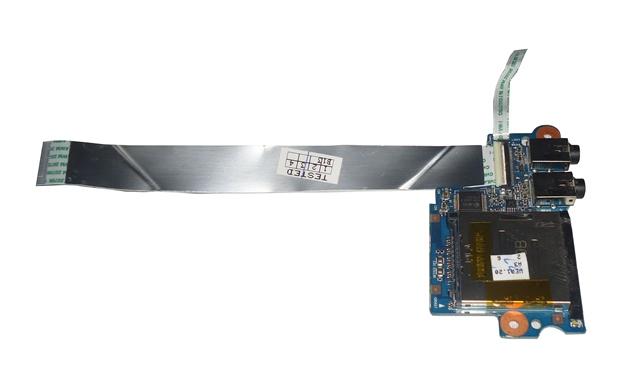 Placa Conector De Audio e Cartão Notebook HP Probook 4530s