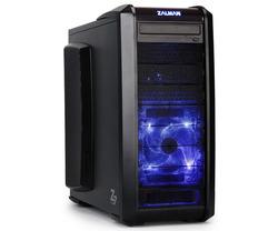 Gabinete Atx Z7 Plus - Zalman Neon Azul Gamer