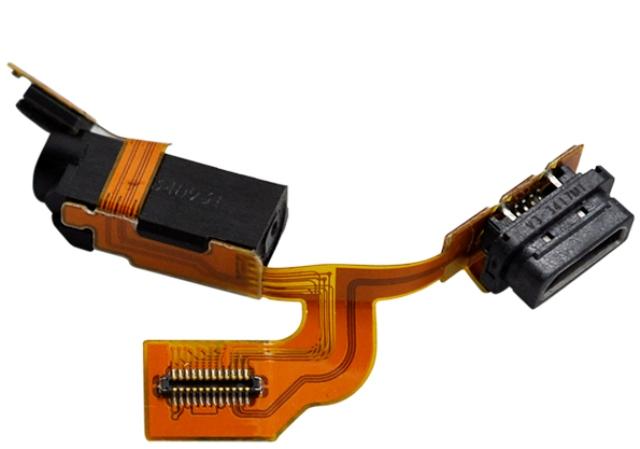 Cabo Flex Nokia Lumia 925 Conector Carga Conector Fone