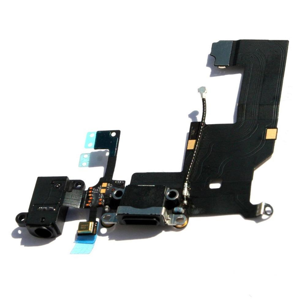 Cabo Flex Conector Carga e Conector Fone iPhone 5G