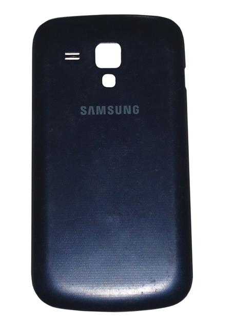 Tampa Traseira Samsung Galaxy Trend Azul Semi Nova