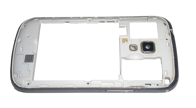 Carcaça Chassi Samsung Galaxy Trend GS7562 Cinza Semi Nova