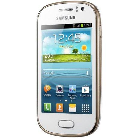 Celular Samsung Galaxy Fame S6812B Android v4.1.2. Branco Semi Novo