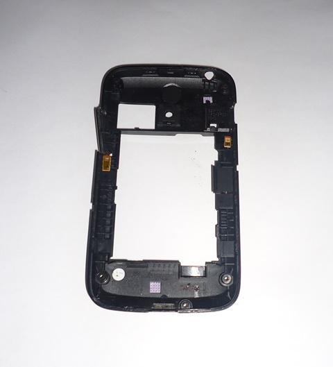 Carcaça Chassi Samsung Galaxy Y Duos GT-S6102 Preta Semi Nova