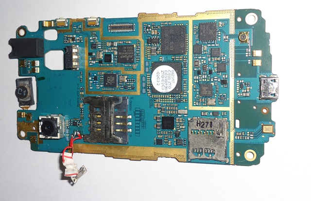 Placa Lógica Samsung Galaxy Y GT S 5368 C/ Defeito