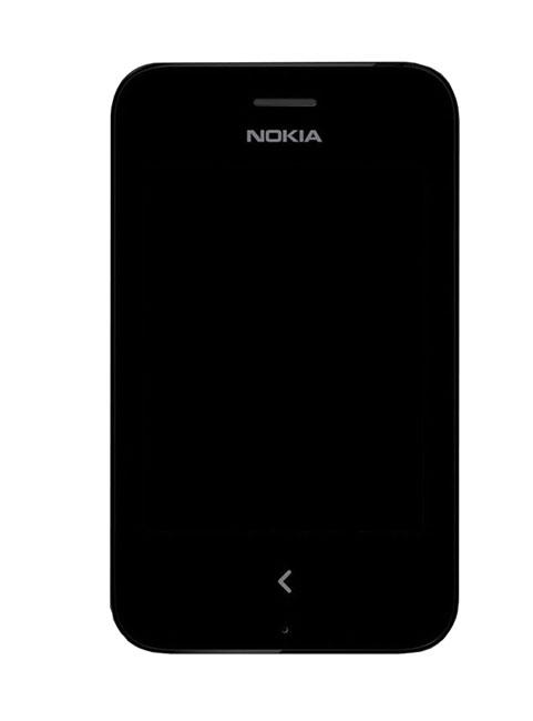 Tela Touch C/ Aro Nokia Asha 230 Preto