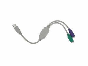 CABO CONVERSOR USB-PS2 U/PS2 HITTO