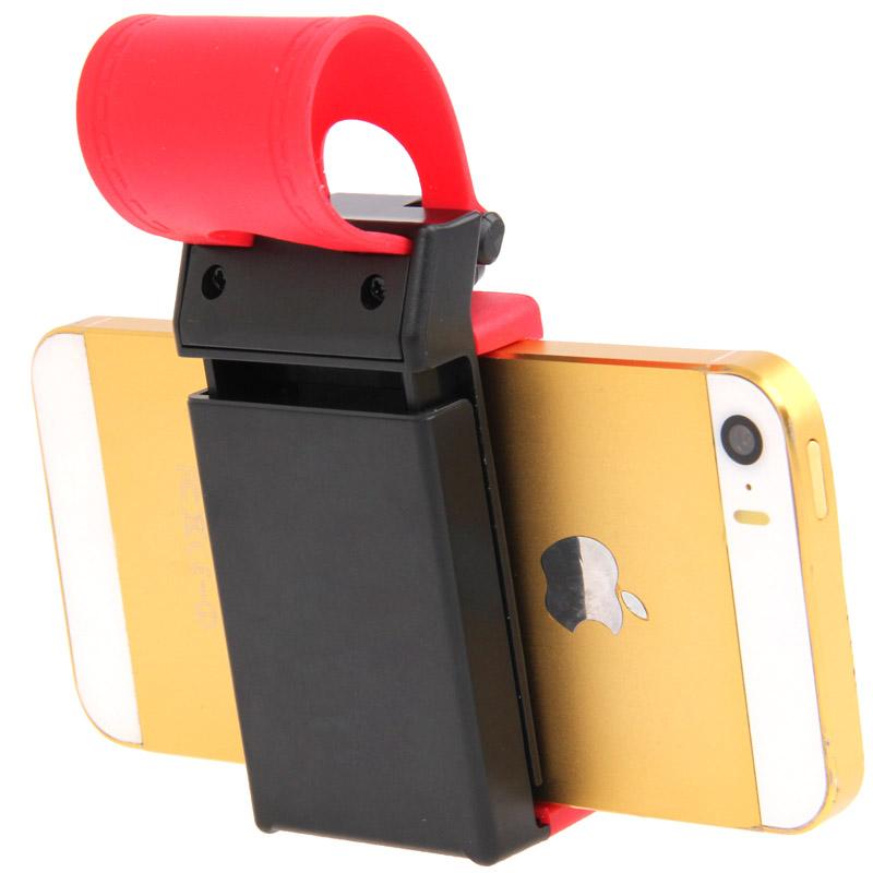 Suporte de Celular GPS Iphone p/ Volante Carro