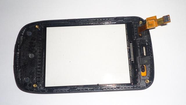 Tela Touch C/ Aro Samsung Galaxy S5570 Retirado  Preto