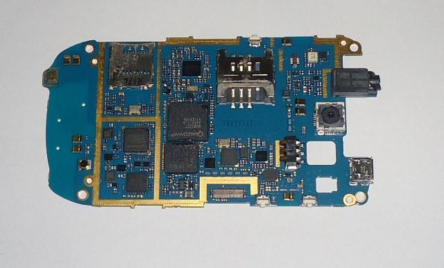 Placa Lógica C/ Defeito Samsung Galaxy Mini S5570