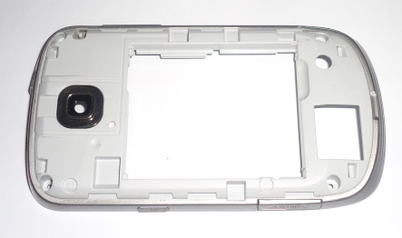 Carcaça Chassi Samsung Galaxy Mini S5570 Branca