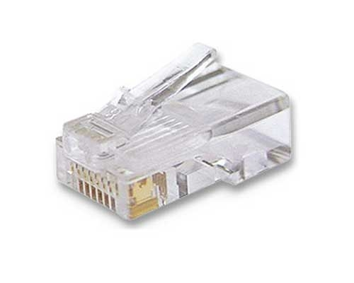 Kit C/ 10 Conectores Plug Macho Rj45 Cat6