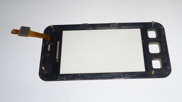 Tela Touch C/ Aro Samsung Star II Duos GT-C6712 Preta Semi Nova