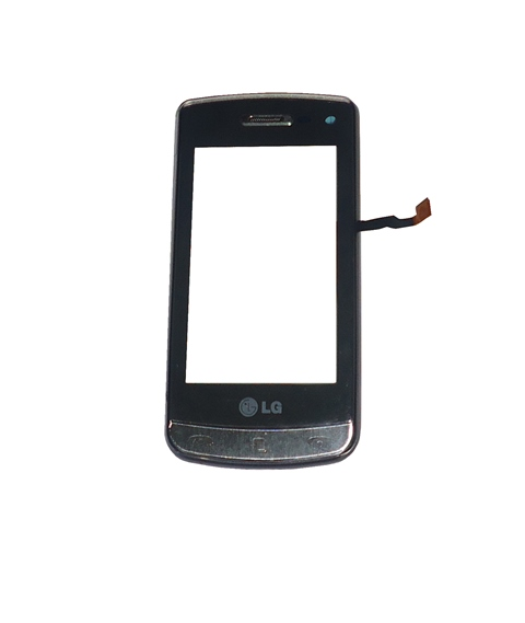 Tela Touch C/ Aro  LG GD900 Cinza
