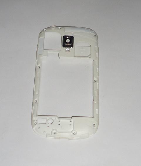 Carcaça Chassi Samsung Galaxy  S III Mini I8190 Branca Semi Nova