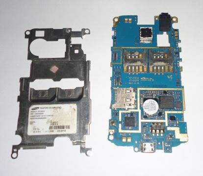 Placa Lógica Samsung Galaxy C3312 C/ Defeito