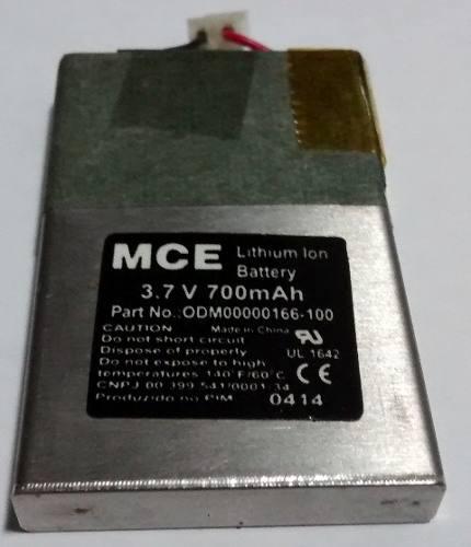 Lote com 10 Bateria Mce 3.7v 700mah Lithium