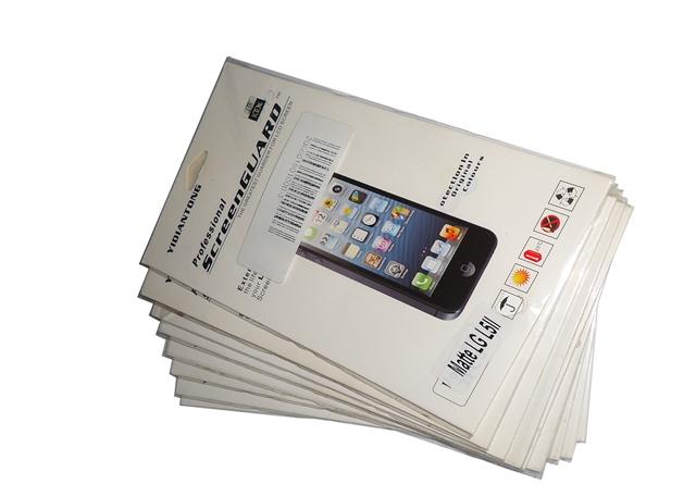 Kit 9 Películas Plástico LG Optimus L5 II