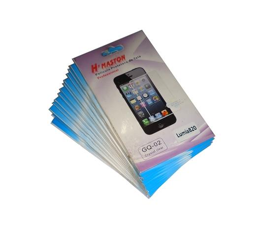 Kit 14 Películas Plástico Nokia Lumia 820