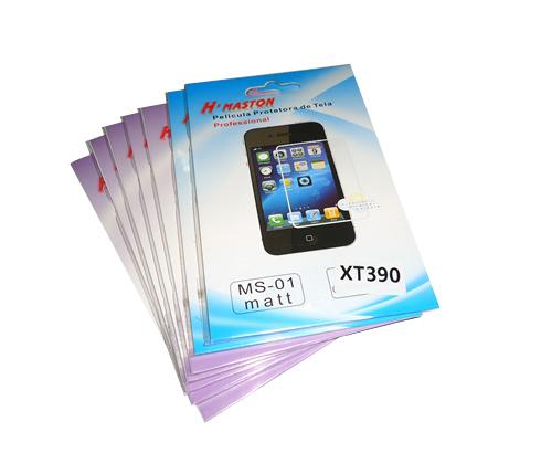 Kit 7 Películas Plástico Motorola Motosmart XT390