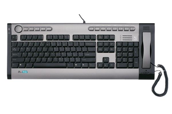 Teclado USB C/ fone KIPS-800 IP-TALKY A4Tech