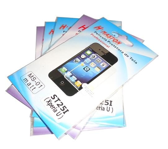 Kit 5 Películas Plástico Sony Xperia U ST25i