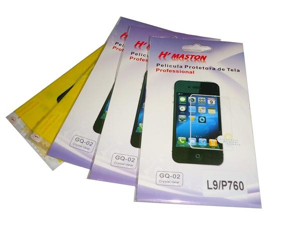 Kit 5 Películas Plástico LG Optimus L9 P760