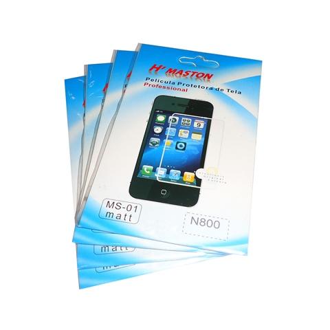 kit 5 Películas Plástico Nokia N800