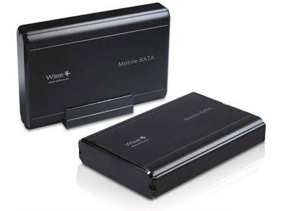 Gaveta para HD Wisecase WSCG-35018-W-SK - SATA 3.5 - USB