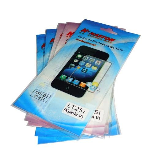Kit 5 Películas Plástico Sony Xperia V LT25I