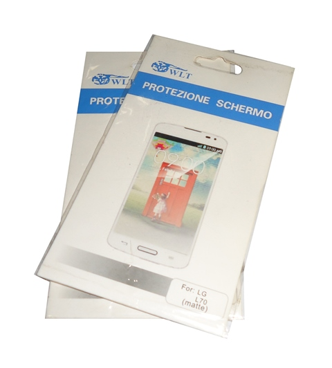 Kit 2 Películas Plástico LG Optimus L70