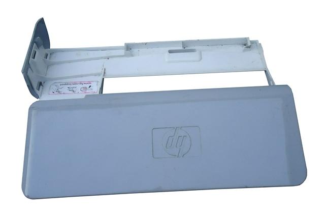 Tampa Bandeja Impressora HP Photosmart C3180 Branco C/ Cinza Semi Nova