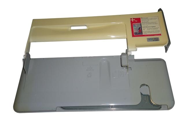 Tampa Bandeja Impressora HP Photosmart C3180 Amarelo C/ Cinza Semi Nova