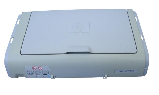 Tampa Bandeja Impressora HP Leaser Jet 1020 Branca Semi Nova
