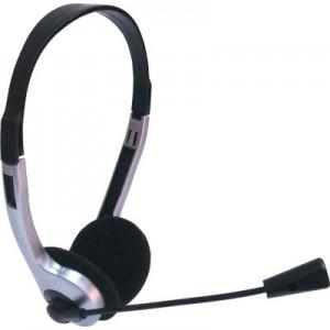 Fone de Ouvido com Microfone Ebox - EB-800P - Preto e Prata