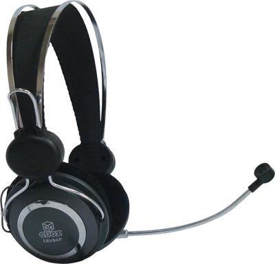 Fone de Ouvido com Microfone Ebox - EBV-84P