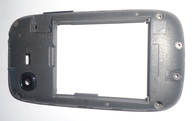 Carcaça Chassi Samsung Galaxy Pocket Neo S5312 Cinza Semi Nova