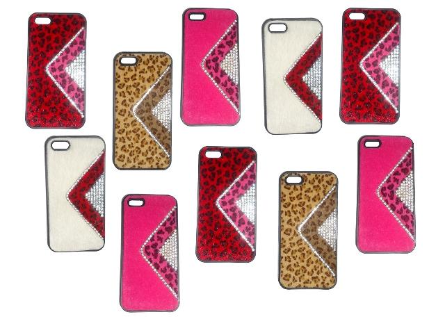 Lote 10 Capas Protetoras  iPhone 5