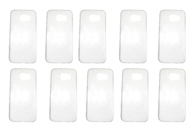 Lote 10 Capas Protetoras Transparente Samsung Galaxy S6