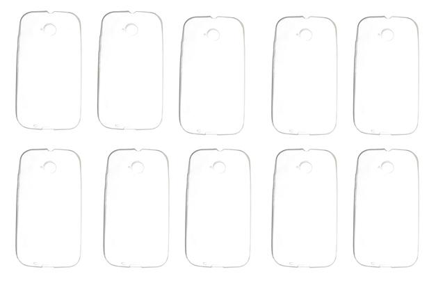 Lote 10 Capas Protetoras Transparente Motorola Moto E E2
