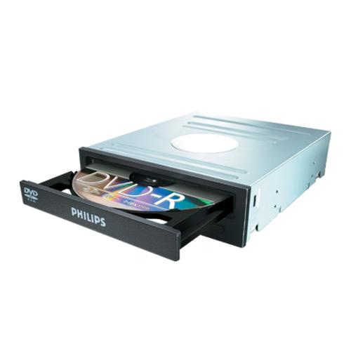 Gravador de DVD 22x Sata SPD2519BD Preto PHILIPS BOX