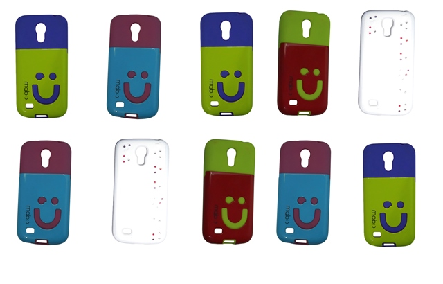 Lote 10 Capas Protetoras Diversas Cor Samsung Galaxy S4 Mini