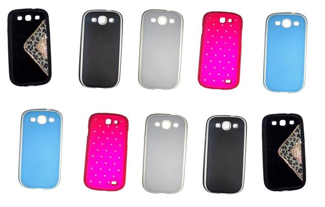 Lote 10 Capas Protetoras Samsung Galaxy S3